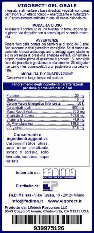 Vigorect, alternativa naturale al Viagra. Funziona?